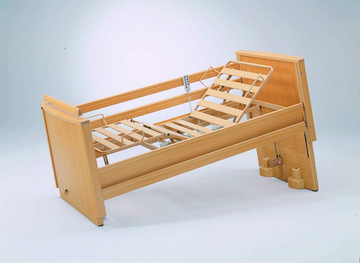 Letto ortopedico elettrico in legno haydn porzio